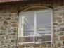 Montaż łukowych okien przesuwnych, 2013 rok.