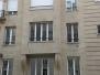 Paryż. Wymiana stolarki PVC w apartamentach, 2013 rok.